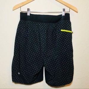 Lululemon Navy Shorts Lined
